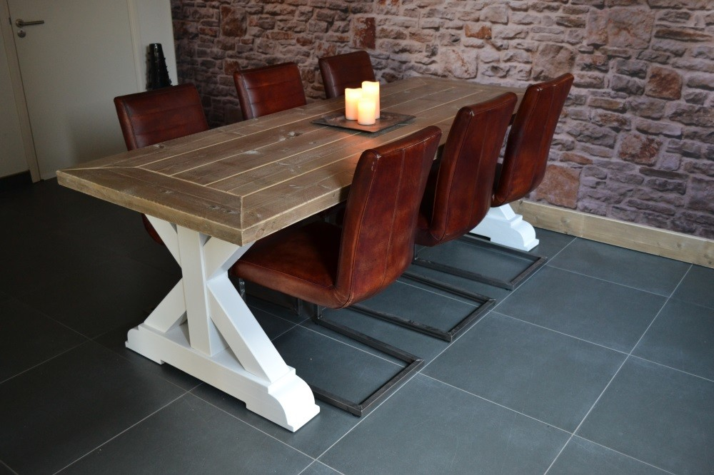 steigerhout kloostertafel brussel